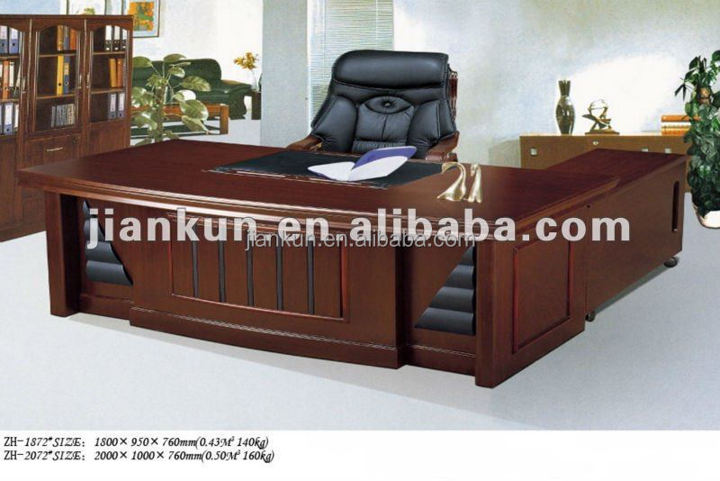 executive wooden modern office table photos