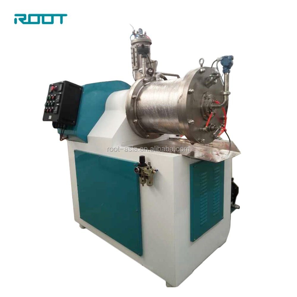 Wet Grinding Bead Mill Machine/Sand Mill for Paint/Pigment/Dye/Ceramic/ATO/Paste