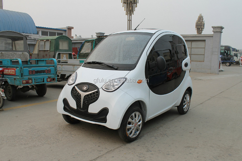 Smart electric car with 3KW AC motor for family use