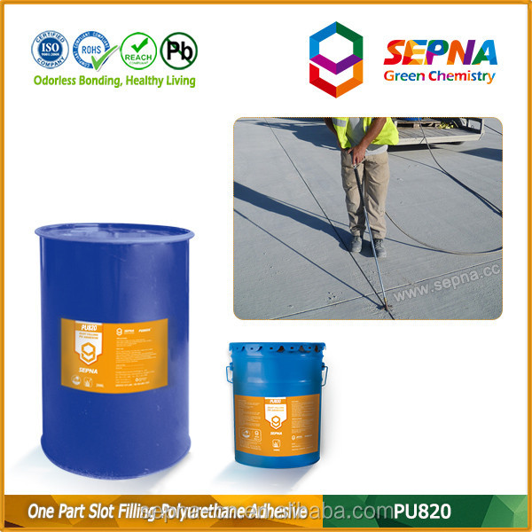 short skin over time long service life polyurethane sealant sealing of joints and cracks