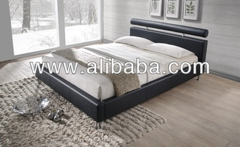 Bedroom Furniture / Faux Leather PU Bed ( Radig Bed)