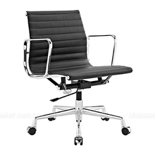 Mass supply factory direct sales leather seat ea117 office classic chairs