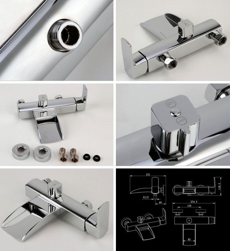 (G007-B) Popular for the market luxury bathroom design tap,bathroom tap,bath shower faucets