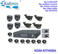 2014 hot selling high quality style h.264 standalone dvr 8ch cctv dvr kits system on sale