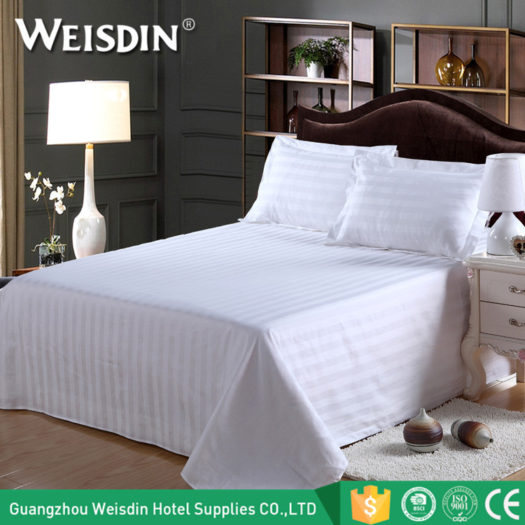 China supplier wholesale latest designs bedding queen size 100% cotton 5 star hotel bed sheet