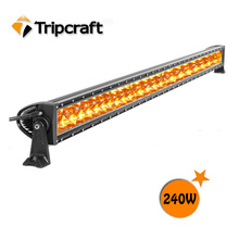 TripCraft Super bright! C REE Double Row 12V LED light bar /4x4 offroad/ driving led light bar for UTV,Truck,Motorcycle,ATV