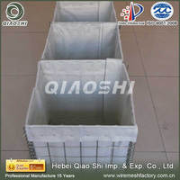 rock basket retaining wall/hesco barriers