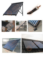 10% discount for High Efficiency Heat Pipe Solar Collectors with Solar Keymark certificate 5 years warranty