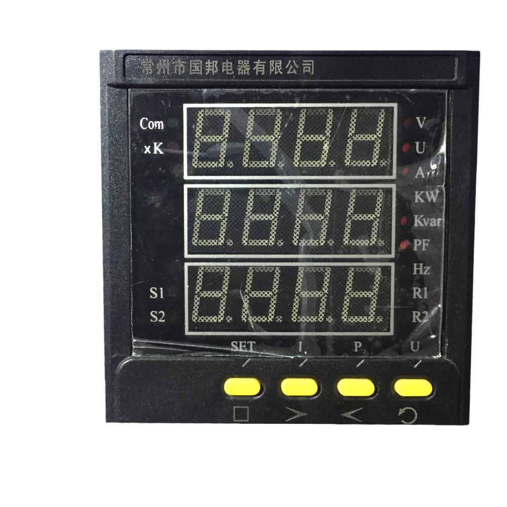 Multifunction Panel Meter : Multi functions digital panel meter phase ac buy