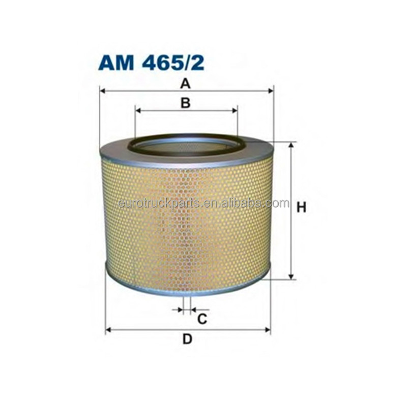 Top quality best price heavy duty truck parts mb actros oem 0030949104 air filter manufacture