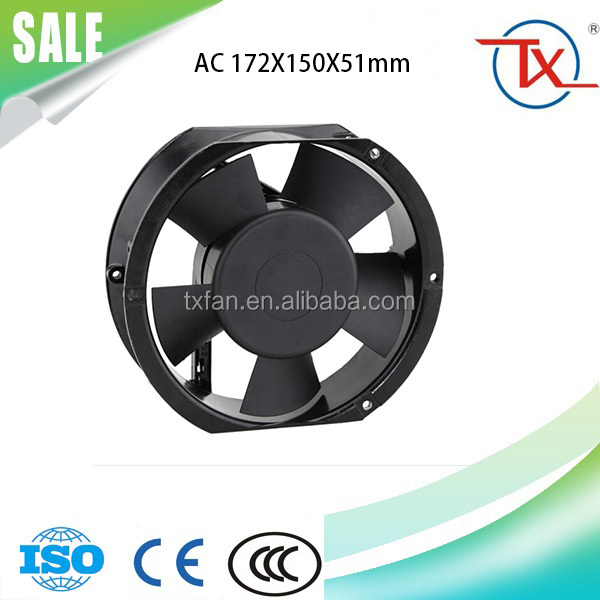 380V 172*150*51mm OEM or Maintenance-free AC Cooling Fan for Office Automation Products