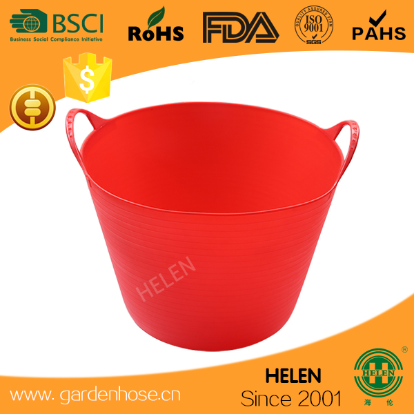 ccolorful and flexible china produce kids bath tubs,french flower bucket