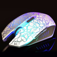 Optical Wired 7 Colors Breathing LED Laser Gaming Mouse