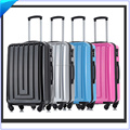 Pure pc abs+pc trolley luggage suitcase alibaba supplier for America Europe market