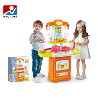 2018 New cute funny real kitchen children cooking play toy HC388965
