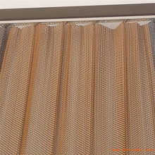 metal mesh curtain metal coil drapery