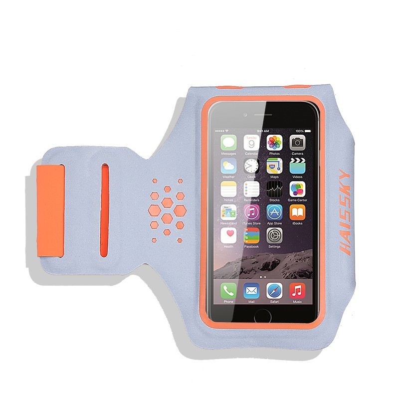HAISSKY HSK-103 Lycra +Reflective Armband case , Armband for iphone 7/7plus , 6/6 plus