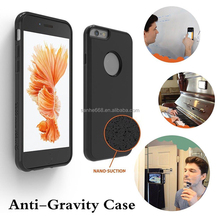 anti gravity Nano Suction cell phone case for Samsung S6 S6 edge for iphone 6 6S 6 plus 6S plus 7 7 plus with One-Stop Supply