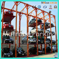 2 3 4 floor hydraulic car lift prices car parking system