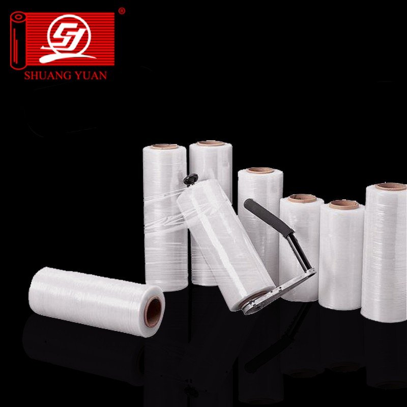 Export grade with strong anti-pressure LLDPE Hand Stretch Film for surface protective