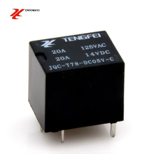 TF relay JQC - T78 - DC5V - C 5pins T78 5V electromagnetic relay