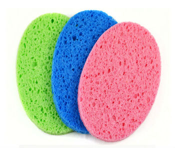Oval Makeup Sponge/Face Cleaning Sponge/Cellulose Sponge