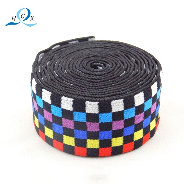 High Quality Colorful Elastic Jacquard Band