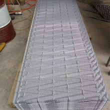 Grey black color cooling tower fill packing, PVC film infill, Cooling tower filler