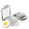 Wholesale high quality stainless steel boiled egg mushroom slicer cutter cuts kitchen tools