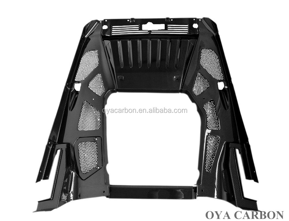 Carbon fiber engine covers for Lamborghini Huracan LP610
