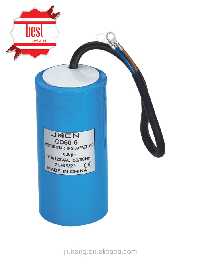 Motor Starter Capacitor Cd60 Series With Ce Sh Capacitor Buy Motor Start Capacitor Motor