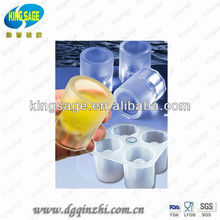 silicone ice cube container,water ice container,plastic ice containers