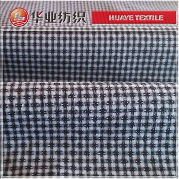 Hot sales,cotton check dobby beautiful fabric for garment