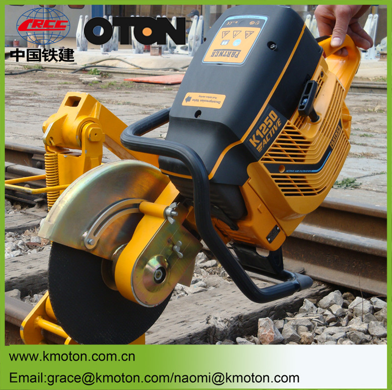 New railway maintenance equipment of abrasive rail cutting machine
