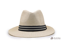 Western men wide brim summer sun paper panama fedora wholesale cheap bulk straw cowboy hats