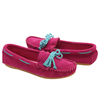 Fashion leather moccasin lady shoes