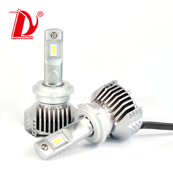 d1s led head lights conversion ZES 45W CANBUS h5 h8 moving auto head lights led