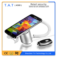 smartphone retail display security alarm holder device stand with alarm and charging A500