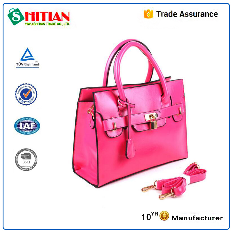 Wholesale new model purses and ladies handbags with lock and key BH-2352.