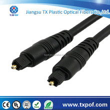 Plastic moulding JIS F05 connector SPDIF optical fiber cable