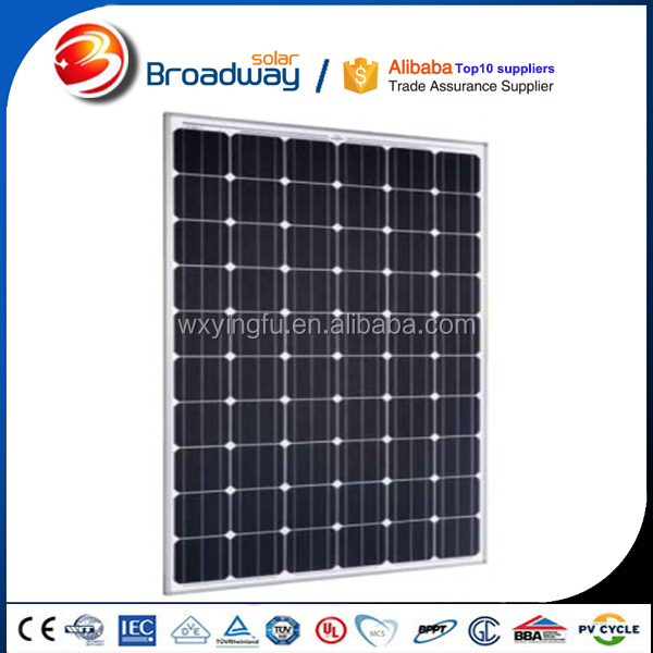China best pv supplier mono 250w solar module and 250w solar panel module for solar system 20kw
