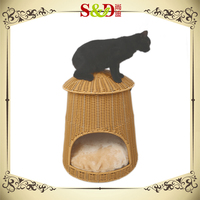 100% pure handmade reliable good quality waterproof cat kennel
