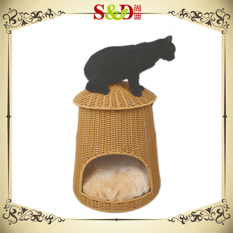 100% pure handmade reliable waterproof cat kennel with cushion