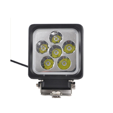 4inch 30W IP68 Waterproof Spot/Flood square LED Work Driving light for Car Tractor Boat
