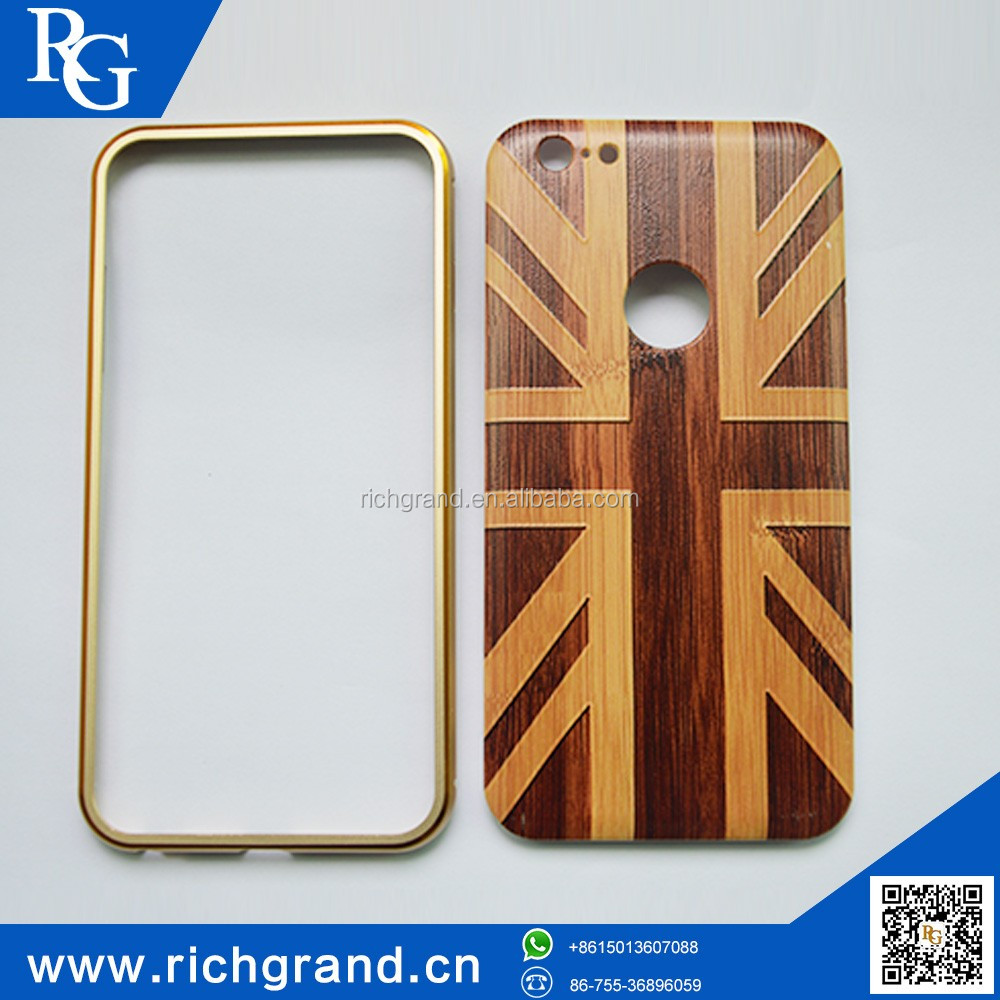 Wholesale new age products hot cell phone accessories wholesale,wooden cover, case for phone case for Iphone 6S