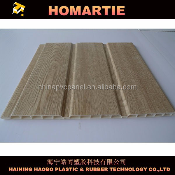 Wood Laminated PVC Panel for Wall and Ceiling