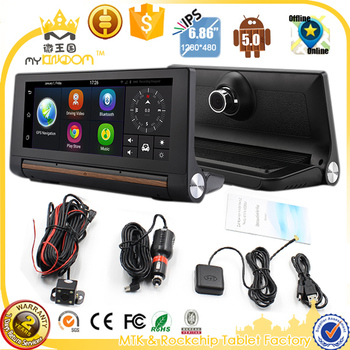 3G 7inch dvrs Car GPS Navigation Bluetooth Android 5.0 Navigators Automobile with DVR FHD 1080 Vehicle gps sat nav Free maps GPS