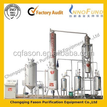 Fully-automatically used operating vacuum lubricating oil purifier