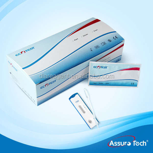 One step PSA Prostate specific Antigen test