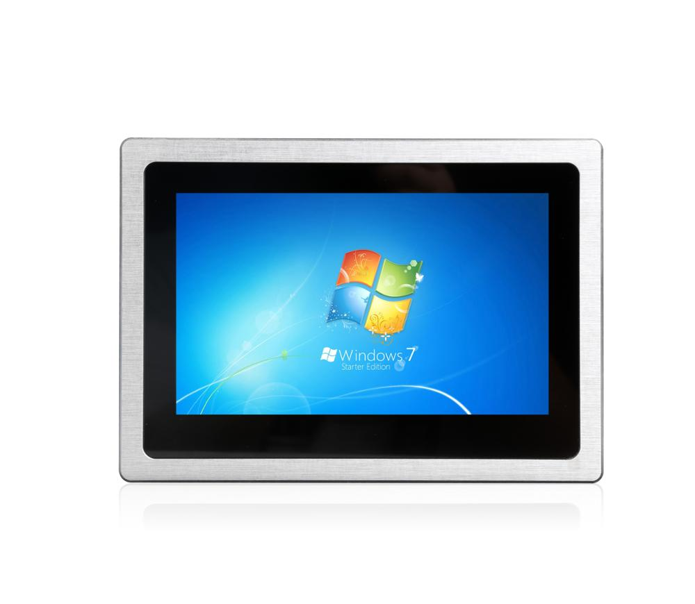Bestview factory cheap 7 inch win10 linux i3 cpu 8GB ram touch screen panel mini pc industrial all in one touch panel pc